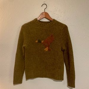 Lambs' Wool Novelty Duck Sweater